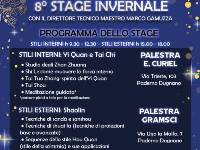 STAGE INVERNALE ADULTI 2018