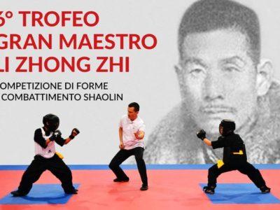 6° TROFEO GRAN MAESTRO LI ZHONG ZHI