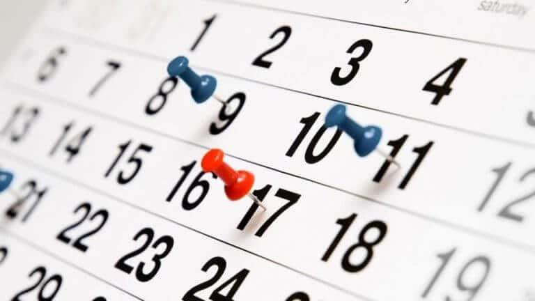 calendario xin dao
